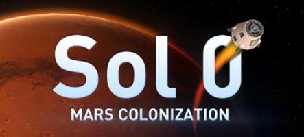 Sol 0: Mars Colonization, comme son nom l'indique