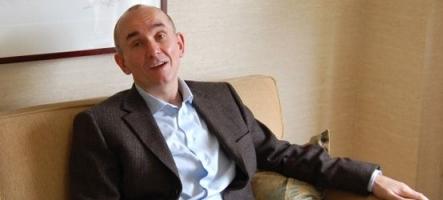 Peter Molyneux en MC de la conférence Microsoft
