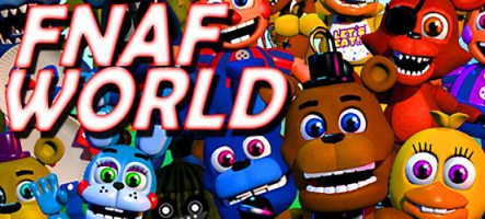 FNaF World : Un jeu de rôle à base d'animatronics