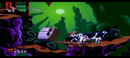 Earthworm Jim déboule en force