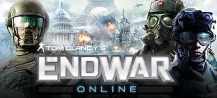 Tom Clancy's EndWar Online est disponible