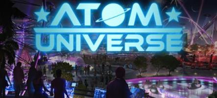 Atom Universe : Un jeu social, gratuit, en ligne