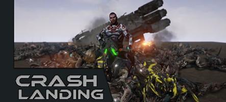 Crash Landing : Un shoot'em up à l'ancienne