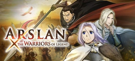 Arslan: the Warriors of Legend, l'anime prend vie ce vendredi