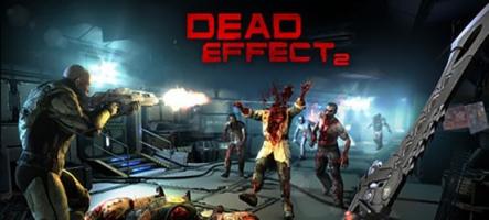 Dead Effect 2, un FPS dans l'espace, avec des zombies