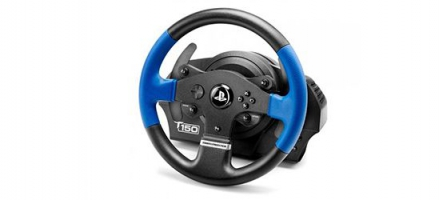 (TEST) Volant Thrustmaster T150 Force Feedback (PC, PS4, PS3)