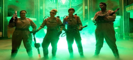 Le remake Ghostbusters s'offre une bande annonce