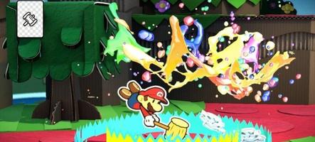 Nintendo annonce Paper Mario : Color Splash