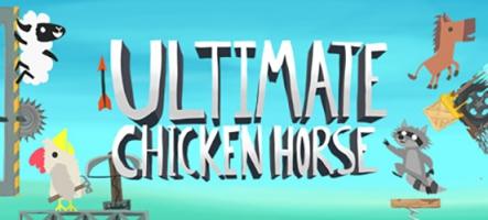 Ultimate Chicken Horse : tendez des pièges aux autres joueurs