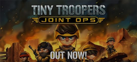 Tiny Troopers désormais disponible sur Xbox One