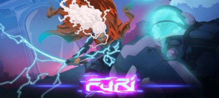 Furi : un jeu de combat contre des boss