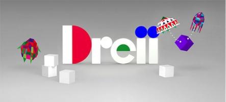 Dreii : un casse-tête géométrique en coop sur PS Vita et PS4