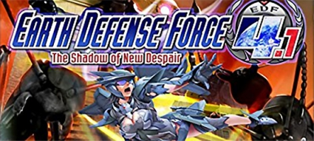 (TEST) Earth Defense Force 4.1 (PS4)