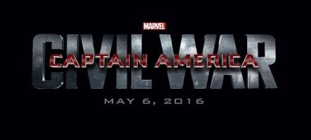 Captain America Civil War : La nouvelle bande-annonce et l'affiche officielle