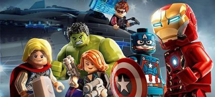 Captain America : Civil War façon Lego Marvel's Avengers