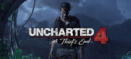 Uncharted 4 est terminé