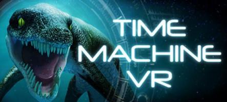 Time Machine : découvrez les dinosaures en réalité virtuelle !