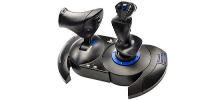 Test du Thrustmaster T.Flight Hotas 4, le premier joystick sur PS4