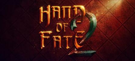 Hand of Fate 2 annoncé pour début 2017