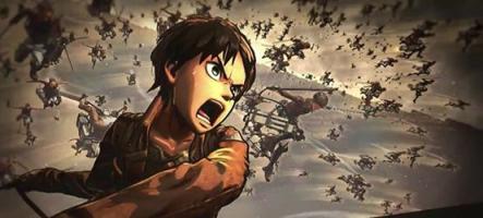 A.O.T. Wings of Freedom : L'attaque des titans en jeu vidéo