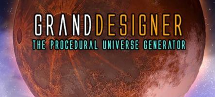 Grand Designer : Créez vos propres planètes !