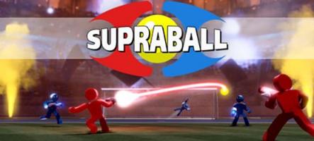 Supraball : Du foot avec des flingues