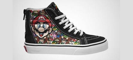 Vans lance les Sneakers Nintendo NES