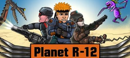 Planet R-12 : Shoot en 2D