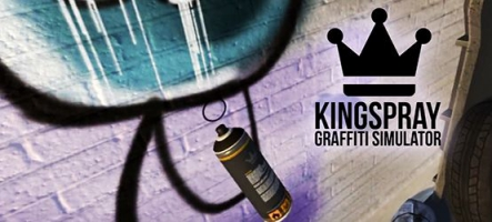 Kingspray Graffiti Simulator : Taguez comme un fou !