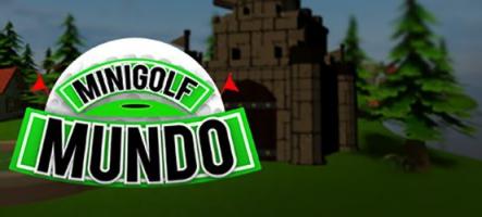 Mini Golf Mundo : 72 trous offerts à vos mains expertes