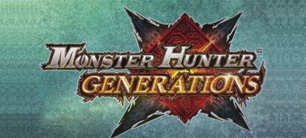 Monster Hunter Generations : Le nouveau jeu de la saga pour le 15 juillet