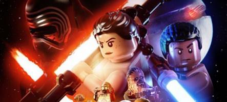 LEGO Star Wars le Réveil de la Force : Finn et Poe main dans la main