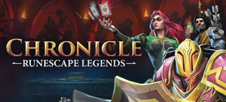 Chronicle: RuneScape Legends, un mélange de cartes et de stratégie