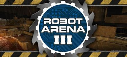 Robot Arena III : Construisez vos robots et combattez avec