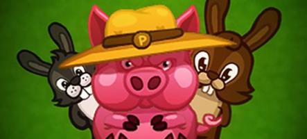 Cuties : Cochon méchant contre lapins amoureux