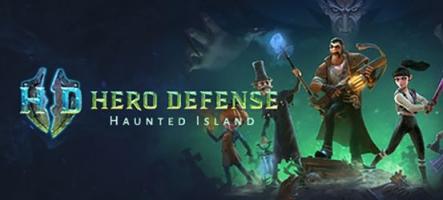 Hero Defense: Haunted Island, un Tower Defense Action RPG