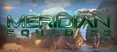 Meridian: Squad 22, un jeu de stratégie solo