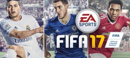 FIFA 17 annoncé pour le 27 septembre, avec le moteur de Battlefield