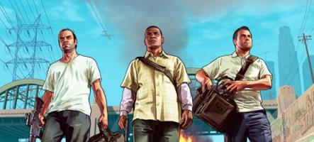 GTA V : Le DLC Haute Finance et Basses Besognes est disponible