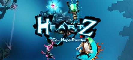 HeartZ: Co-Hope Puzzles, un jeu de potes