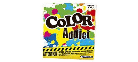 Color Addict : le petit jeu de cartes fun qui mélange les couleurs