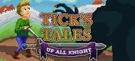 Tick's Tales: Up All Knight, un jeu d'aventure à la LucasArts