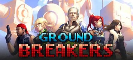 Ground Breakers, un jeu de stratégie et de robots