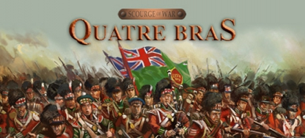 Scourge of War: Quatre Bras est disponible
