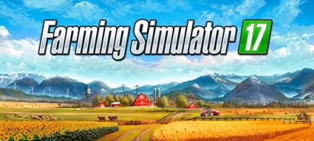(E3) Farming Simulator 17 vous emmène sur les Champs