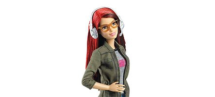 Une Barbie développeuse de jeux vidéo...