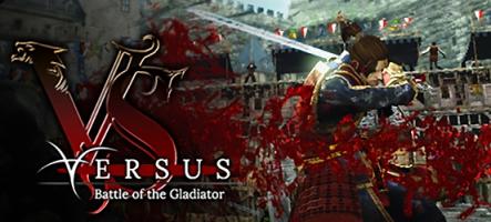 Versus: Battle of the Gladiator, un jeu de combat en ligne hyper violent