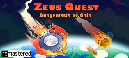 Zeus Quest Remastered, un jeu d'aventure humoristique