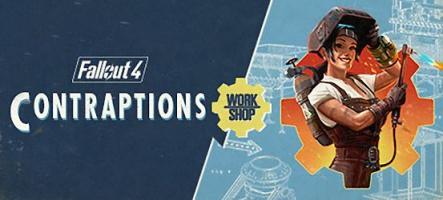 Fallout 4 Contraptions Workshop, le nouveau DLC est disponible