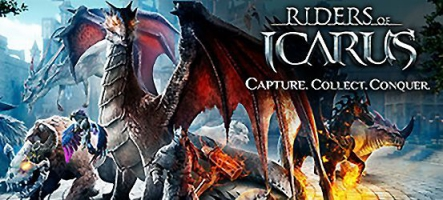 Riders of Icarus : un MMORPG à dos de dragon